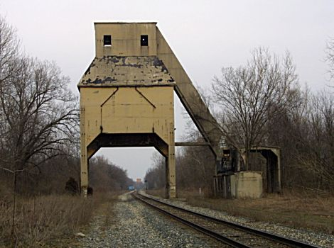 MCRR Coaling Tower At Augusta